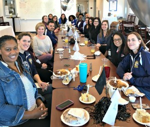 All smiles at NUSD's counselors' luncheon