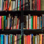 Colorful Library Books