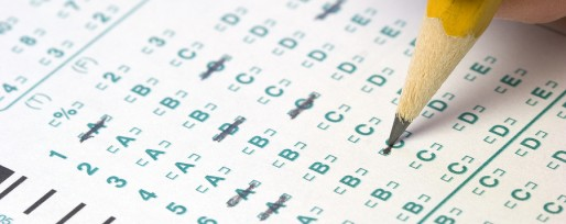 Scantron with Pencil
