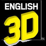 English 3D logo