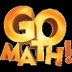 Gold go math logo